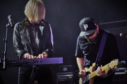 Phantogram, London, 4/4/17 (© Sync.)