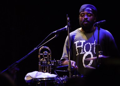 Hot 8 Brass Band, Exeter, 8/7/17 (© Sync Music Blog)