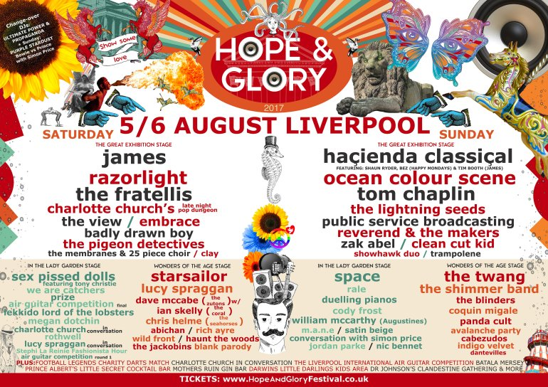 Hope & Glory 2017