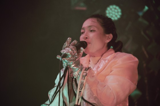 Little Dragon, Bristol, 30/10/17 (© Sync Music Blog)