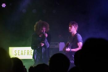 Seafret, Bournemouth, 29/9/17 (photo: Phoebe Reeks)