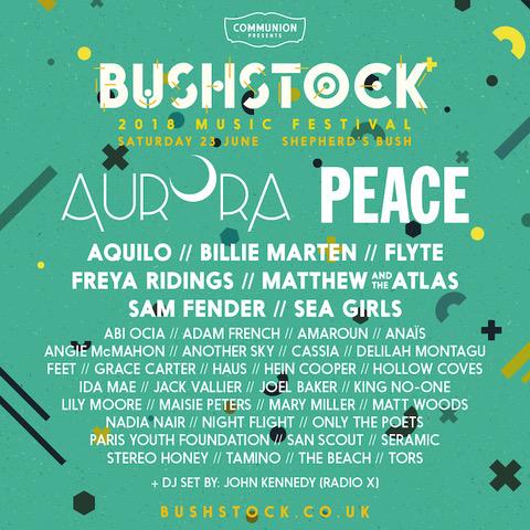 Bushstock lineup