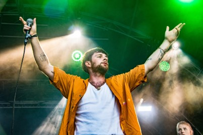 Tom Grennan, Neverworld 2018 (photo © Linda Brindley)