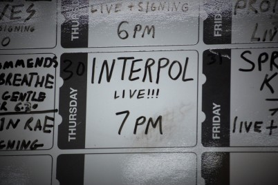 Interpol (photo © Martin Allen for Sync)