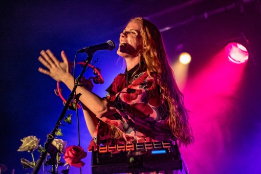 Vera Blue, London, 11/9/18 (photo © Linda Brindley for Sync)