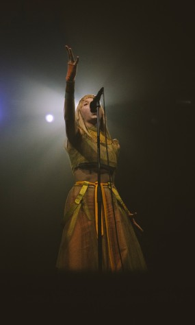 Aurora, London, 11/10/18 (photo © Katrine Jung for Sync)