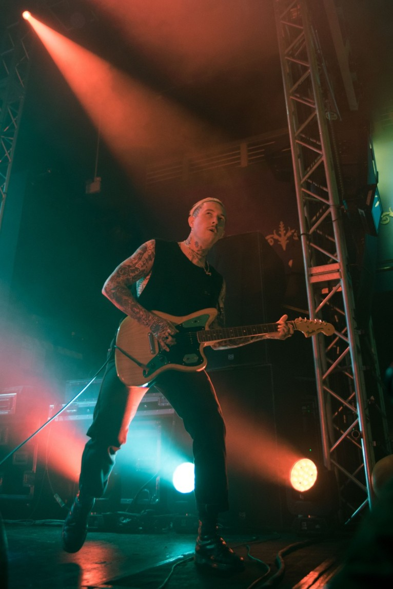 Slaves, Leeds, 19/11/18 (photo © Rebecca Cribb for Sync)